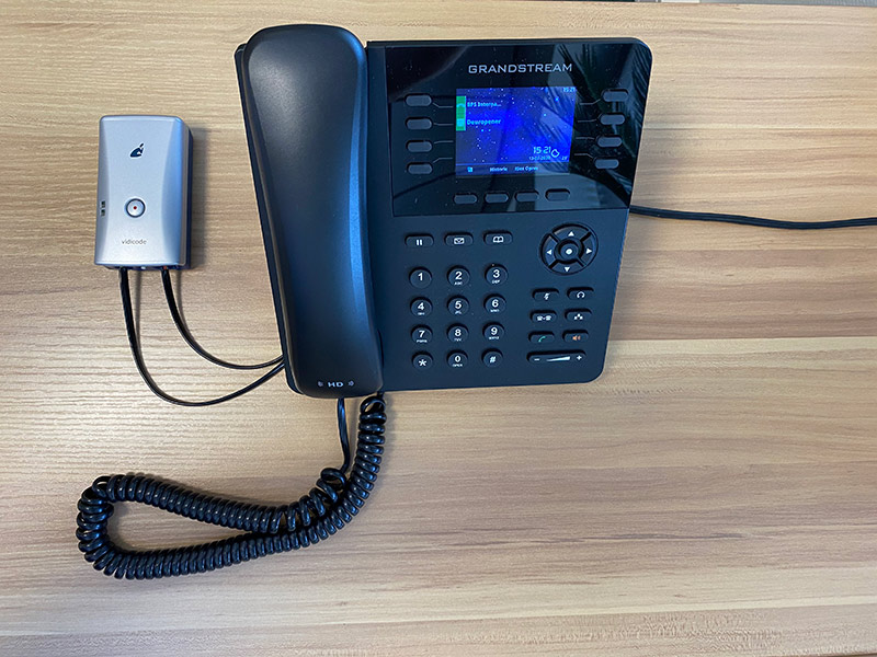 Aansluiten op analoge telefoonlijn